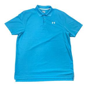 Under Armour HeatGear Polo Shirt Large